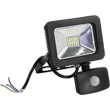 Прожектор светодиодный IP65 10вт с датчиком движения