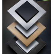 Рамки для выключателя Prime Aluminium Ovivo