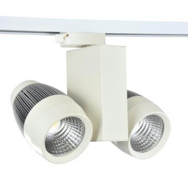 Светильник трековый на шинопроводе LED DK2001-2 2Х30W WH