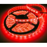 Светодиодная лента IP20 красный 12V