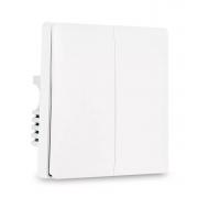 Выключатель двойной Xiaomi Mi Smart Home Zigbee Белый