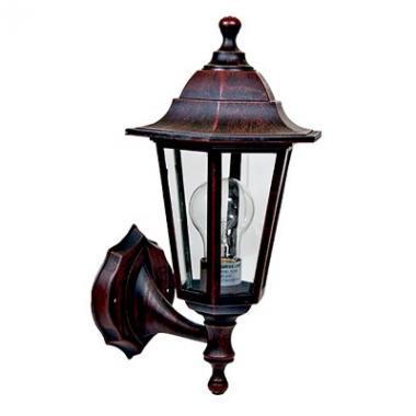 Стилизованный  светильник ROMA P1126S PLASTIK, E27 RUST