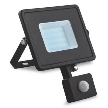 Прожектор светодиодный IP65 30вт с датчиком движения