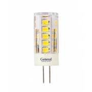 Cветодиодная лампа G4 5вт (пластик прозрачный)