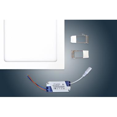 Светодиодная  панель встраиваемая  JL -F 18W  225x225mm
