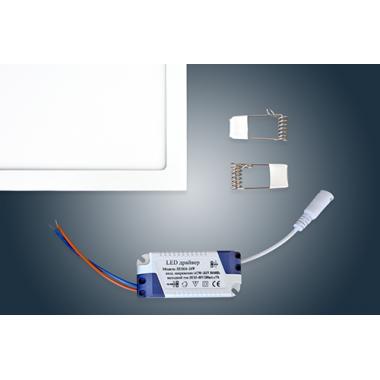 Светодиодная  панель встраиваемая  JL -F 24W  300x300mm