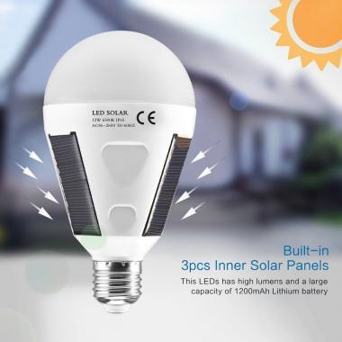Солнечная LED лампа