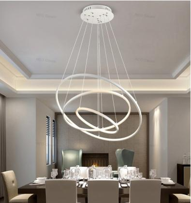 LED люстры потолочные светильники