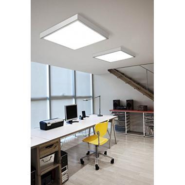 LED панель 600х600х35мм наружная 36вт матовый рассеиватель