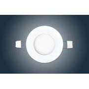 LED спот встраиваемый 3W Ø90мм  круглый